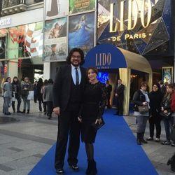 Ани Лорак побывала в театре LIDO Парижа с Филиппом Киркоровым