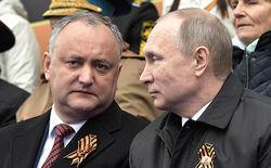 Парад Победы в Москве посетил только президент Молдовы