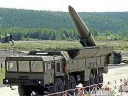 Российские войска у границы Украины проводят пуски ракет «Искандер»