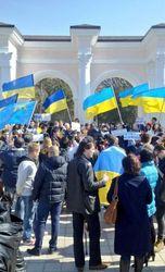 Жители Крыма выступили против «референдума»