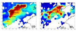 Ученые смогли определить степень загрязнения атмосферы Земли из космоса