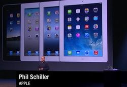 В Украине iPad Air будет стоить от 4999 гривен, iPad mini – от 3999