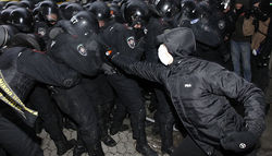 Украина официально просит ЕС помочь в расследовании произошедших беспорядков