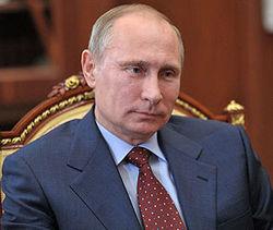 В День Победы Путин пожелал мира украинцам и грузинам