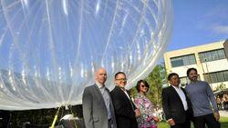 Google начинает запуск воздушных шаров для бесплатного Интернета с Индонезии