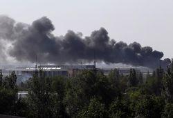 Авиация уничтожила танки боевиков, атаковавшие аэропорт в Луганске
