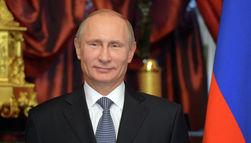 В. Путин поздравил россиян с Новым годом
