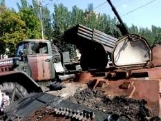 Жесткий бой возле аэропорта Донецка продолжается – горсовет