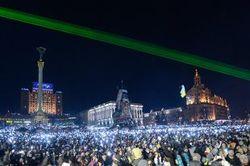 Рождественский подарок от властей – Евромайдан в Свят вечер обесточили