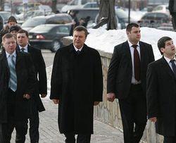 """Места пребывания Януковича станут """"режимными объектами"""" - Управление госохраны"""