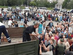 Будни Славянска: регионала Левченко прогнали, город восстанавливается
