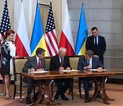 Украина договаривается о поставках газа из США