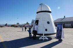 Начались испытания пассажирской версии космического корабля Dragon