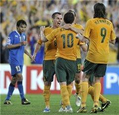 Узбекистан повержен австралийцами на Кубке Азии по футболу