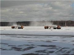 В штатном режиме работают московские аэропорты