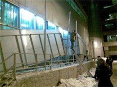 Матвиенко: необходимо проверить лицензию у тех, кто убирал крышу