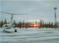 В Борисполе у самолета оторвалось шасси прямо на взлете