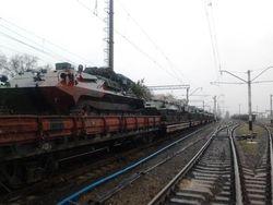 В Донецк прибыли 20 украинских танков