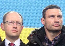 Яценюка и Кличко пригласили в Брюссель обсудить таможенную блокаду Москвы