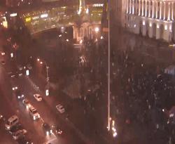 Милиция попробует разогнать Евромайдан ночью - СМИ
