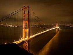 """Мост """"Золотые ворота"""" в Сан-Франциско защитят от самоубийц за 76 млн. долларов"""