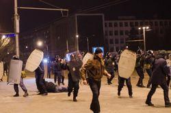 """В Запорожье Еврокомиссару рассказали о """"титушках"""" и преследованиях оппозиции"""