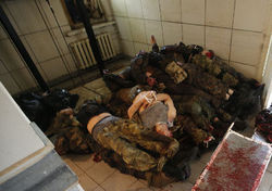 Трупы убитых российских солдат сжигают в передвижных крематориях