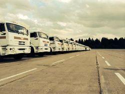 Колонна с гуманитаркой из РФ зайдет в Украину в Харьковской области – Кучма