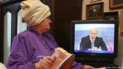 Только 14 процентов россиян критически относятся к пропаганде