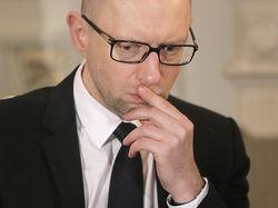 Яценюк исключил общение с террористами