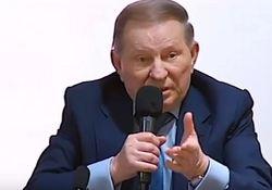 Кучма назвал переговоры с боевиками односторонним путем