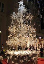 Новогоднюю елку из золота за 5 млн. долларов выставили на продажу в Японии