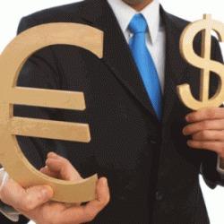Курс евро понизился к доллару на Forex