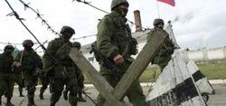 Военные РФ на аэродроме в Новофедоровке расставили пулеметчиков