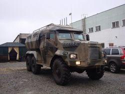В Украине разработали новый броневик «Годзилла»