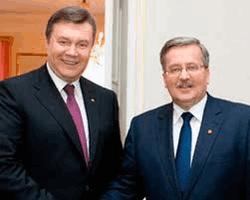 Коморовский и Янукович