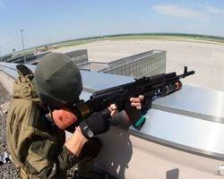 Под Донецком идет бой, стреляют из ПЗРК