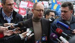 Санкцию на переговоры с Януковичем должен дать народ Украины - лидеры оппозиции