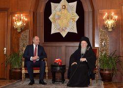 Вселенский патриарх Варфоломей молится за единую украинскую церковь