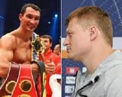 В бою против Поветкина Кличко идет явным фаворитом