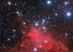 НАСА: новые снимки звездного скопления NGC 3572 поразили своей красотой