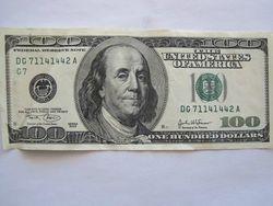 Курс доллара продолжил снижение на 0,09% на Форекс после выступления главы ФРС США Йеллен