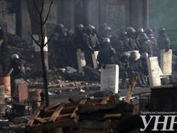 Майдан прорвал кордоны и вернул себе Украинский дом и Октябрьский дворец