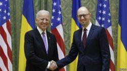 Яценюк и Байден требуют от РФ выполнения Минских соглашений
