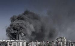 В жилом здании в Баку начался страшный пожар – есть погибшие