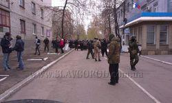 Славянск остается закрытым городом для миссии ОБСЕ