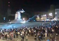 Кернес пообещал восстановить памятник Ленину в Харькове