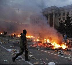Спецслужбы России причастны к бойне в Одессе 2 мая – ООН