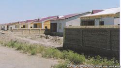 В Хазараспе образцовые дома строят некачественно