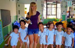 Английский язык китайские дети учат с младых лет